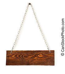 木製である, 古い, 板