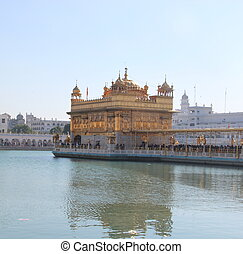 Golden Temple in Amritsar 2 India, Punjab winter