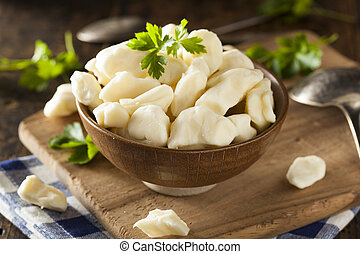 White Dairy Cheese Curds in a Bowl