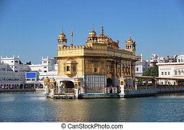 Golden Temple in Amritsar 3 India, Punjab winter