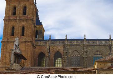 Astorga cathedral, detail
