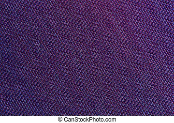 Purple Fabric Texture Macro - A macro shot of purple...