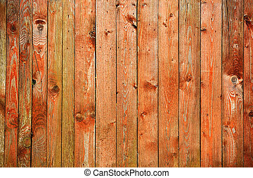 Old Wood Background - Old wooden planks as a background
