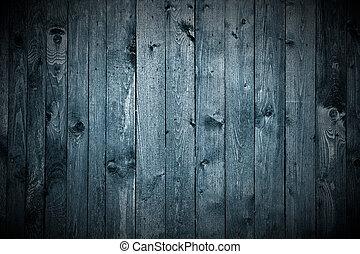 Dark Wood Background - Dark wooden planks as a background