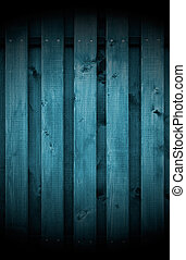 Dark Wood Background - Dark wooden wall with spotlight as a...
