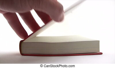 Browsing Book Pages - Canon HV30. HD 16:9 1920 x 1080 @...