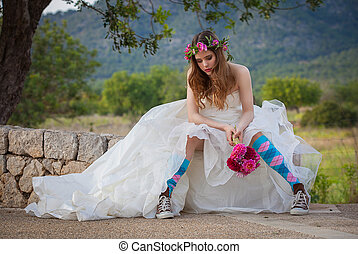 fashion jilted teen bride