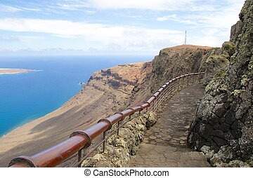 Lanzarote Mirador del Rio View 006 - Amazing view on the...