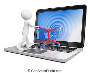 3D white people Ecommerce - 3d white people Ecommerce...