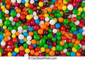 multicolor, azúcar, asperja, Plano de fondo