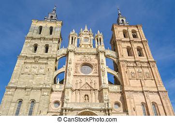 Astorga cathedral facade