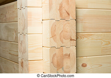 glued pine timber construction