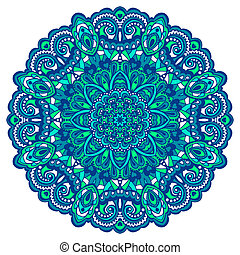 Flower Mandala. Abstract element for design - Abstract...