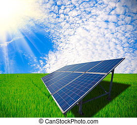 Solar energy for sustainable development of Green meadow -...