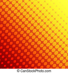 Abstract background - Abstract background the red and yellow...