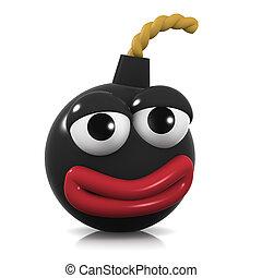 3d Happy bomb