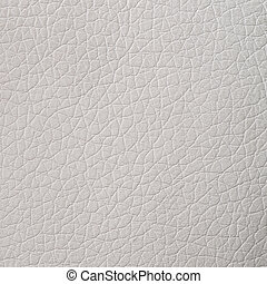 White leather texture - Closeup on cracked white leather...