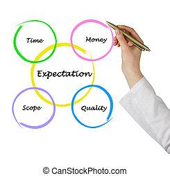 Expectation diagram