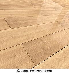 3d Bamboo flooring tiles