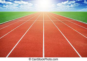 Running track  - Running track