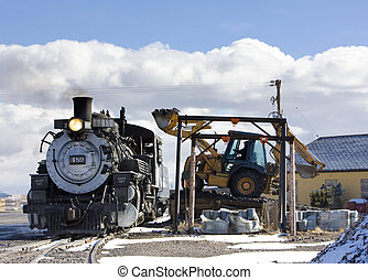 Cumbres and Toltec Narrow Gauge Railroad, Antonito,...
