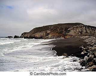 California Central Coast 1 - south of Pacifica, California...