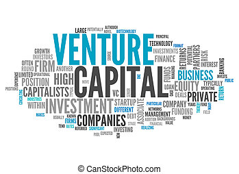 Word Cloud Venture Capital - Word Cloud with Venture Capital...