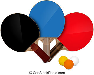 table tennis vector illustration abstract background eps 10