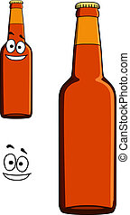 Two bottles of beer or lager