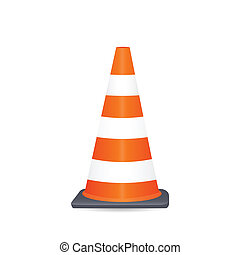 Safety Cone Illustration