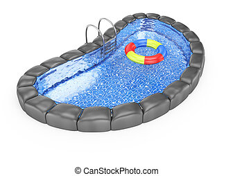 Swimming bath illustrations and clip art 1 138 swimming for Swimming pool drawing