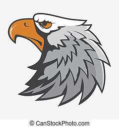 Eagle Head Mascot Image Vector Illustration