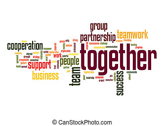 Together word cloud