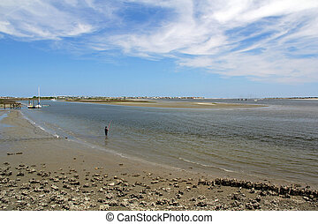 Matanzas River - Low Tide on the Matanzas River, St...