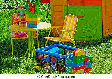 Playground garden