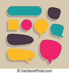 Vector Speech Balloons