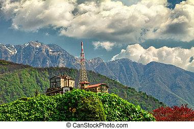 Monte San Salvatore - The Monte San Salvatore (912 m) is a...