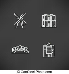 World Landmarks - Most famous Architecture Landmarks Around...