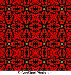 seamless pattern - Seamless pattern made from butterfly wing...