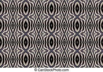 seamless pattern - Seamless pattern made from Common Zebra...