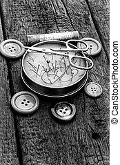 tools for sewing - deprecated tools for sewing monochrome...