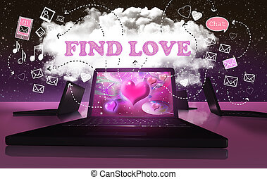 Finding Love with Online Internet Dating on Digital Devices