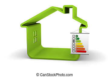 Building Energy Performance C Classification - House with an...