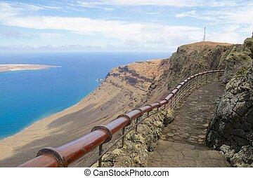 mirador,  Rio,  Lanzarote,  del,  007, vista