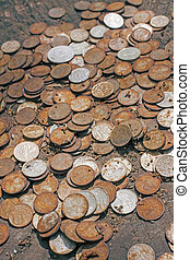 bad rusty money, inflation concept