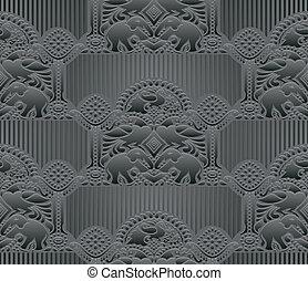 Antique seamless dark background
