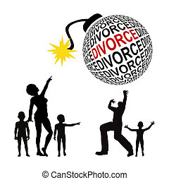 Divorce Battle - There are only victims, when parents are...