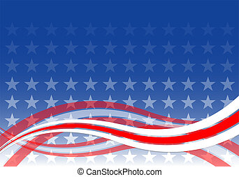 USA Background - Background with USA Design
