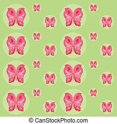 pattern of butterflies