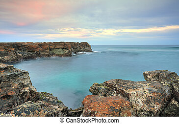 North Avoca Rocks - North Avoca escarpment easterly view at...